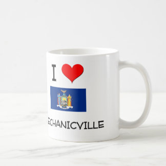 I Love Mechanicville New York Coffee Mugs