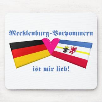 I Love Mecklenburg-Vorpommern ist mir lieb Mouse Pad