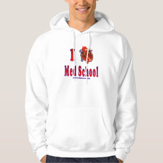 I Love Med School Sweatshirts