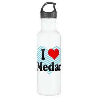 I Love Medan, Indonesia. I Cinta Medan, Indonesia Water Bottle
