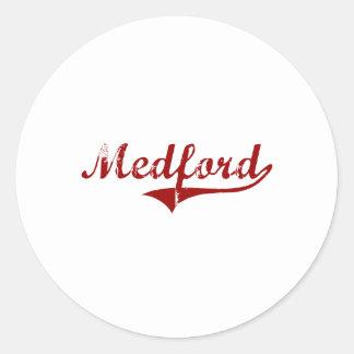 I Love Medford Oklahoma Round Stickers