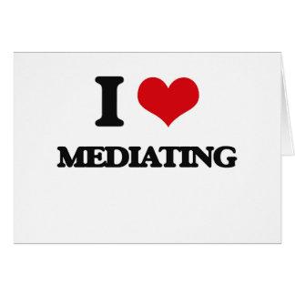 I Love Mediating Cards
