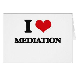 I Love Mediation Card