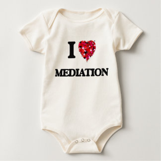 I Love Mediation Baby Creeper
