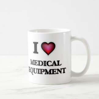I Love Medical Equipment Coffee Mug