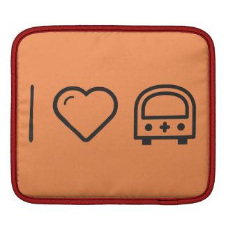I Love Medical Insurances iPad Sleeve