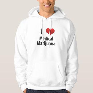 I Love Medical Marijuana Sweatshirt
