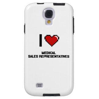 I love Medical Sales Representatives Galaxy S4 Case