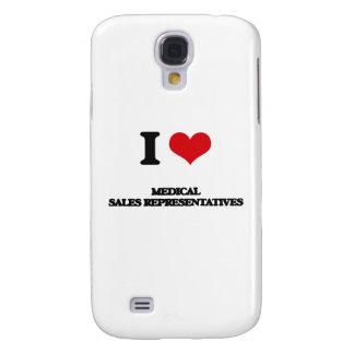 I love Medical Sales Representatives Galaxy S4 Cover