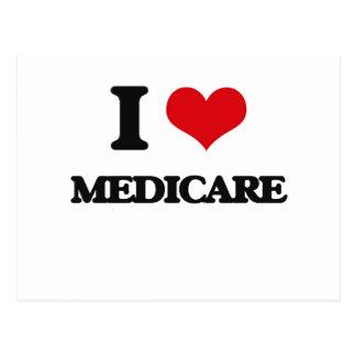 I Love Medicare Postcard