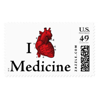 I love Medicine Postage