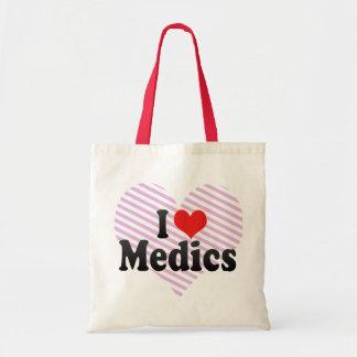 I Love Medics Budget Tote Bag