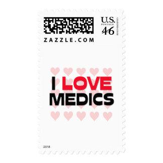 I LOVE MEDICS STAMP