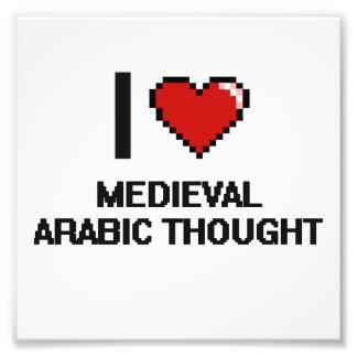 I Love Medieval Arabic Thought Digital Design Photo Print