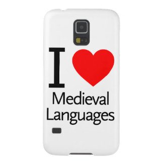I Love Medieval Languages Cases For Galaxy S5