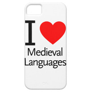 I Love Medieval Languages iPhone 5 Cover