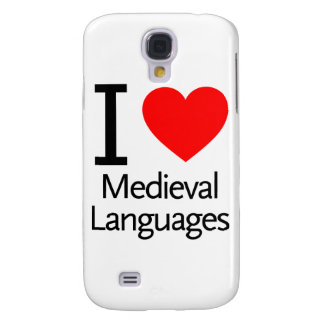 I Love Medieval Languages Samsung Galaxy S4 Case