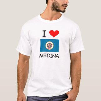 I Love Medina Minnesota T-Shirt