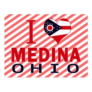 I love Medina, Ohio Postcard