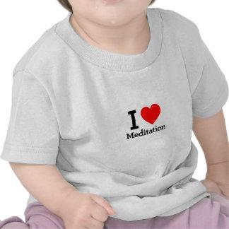 I Love Meditation T-shirts