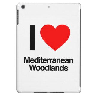 i love mediterranean woodlands iPad air covers