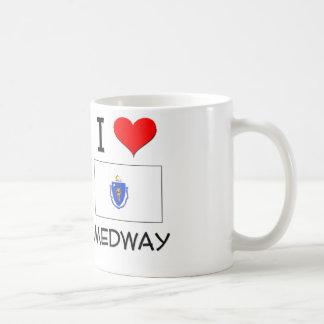 I Love Medway Massachusetts Classic White Coffee Mug
