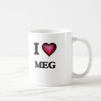 I Love Meg Coffee Mug