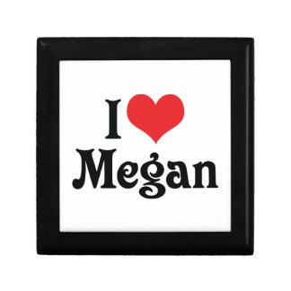 I Love Megan Gift Box