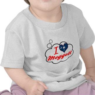 I Love Meggett South Carolina Tee Shirt