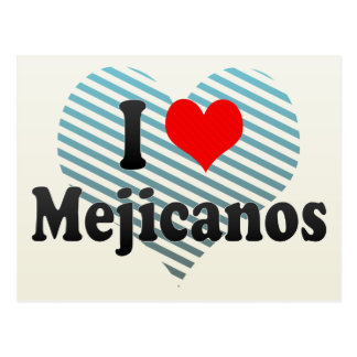 I Love Mejicanos, El Salvador Postcard