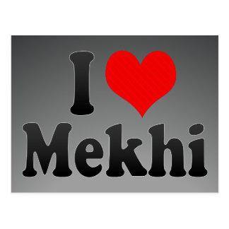 I love Mekhi Postcard
