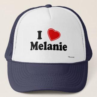 I Love Melanie Trucker Hat