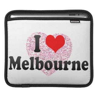 I Love Melbourne Australia Sleeves For iPads