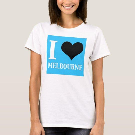 I Love Melbourne Australia T-Shirt