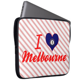 I Love Melbourne Kentucky Laptop Sleeves