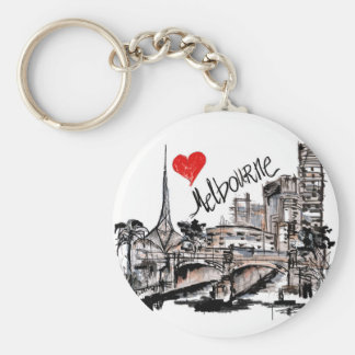 I love Melbourne Keychain