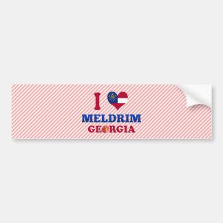 I Love Meldrim, Georgia Bumper Stickers