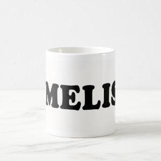 I LOVE MELISSA COFFEE MUG