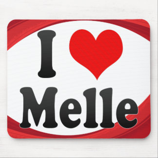 I Love Melle Germany Ich Liebe Melle Germany Mouse Pads