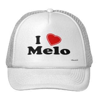 I Love Melo Trucker Hat