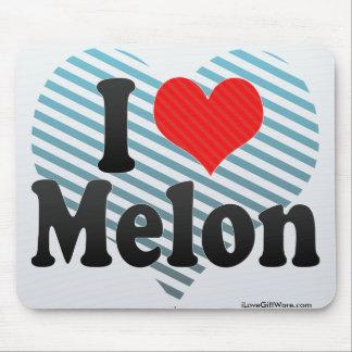 I Love Melon Mouse Pad