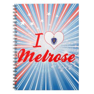 I Love Melrose, Massachusetts Note Book