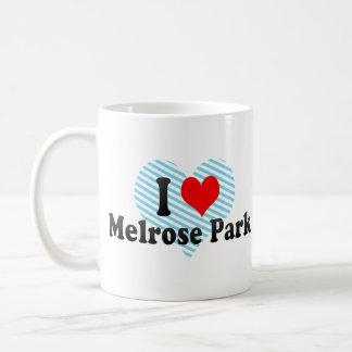 I Love Melrose Park, United States Coffee Mugs