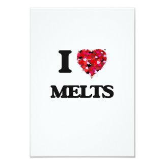 I Love Melts 3.5x5 Paper Invitation Card