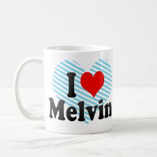 I love Melvin Classic White Coffee Mug