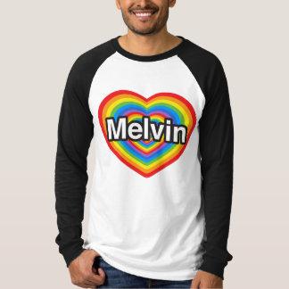 I love Melvin. I love you Melvin. Heart Shirt
