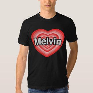 I love Melvin. I love you Melvin. Heart T-shirt