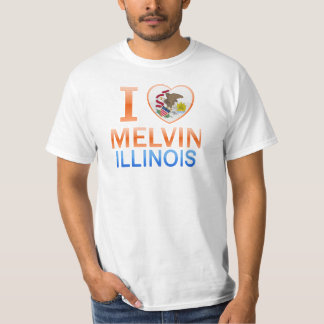 I Love Melvin, IL T Shirt