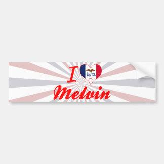 I Love Melvin, Iowa Bumper Stickers