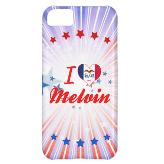 I Love Melvin, Iowa Cover For iPhone 5C